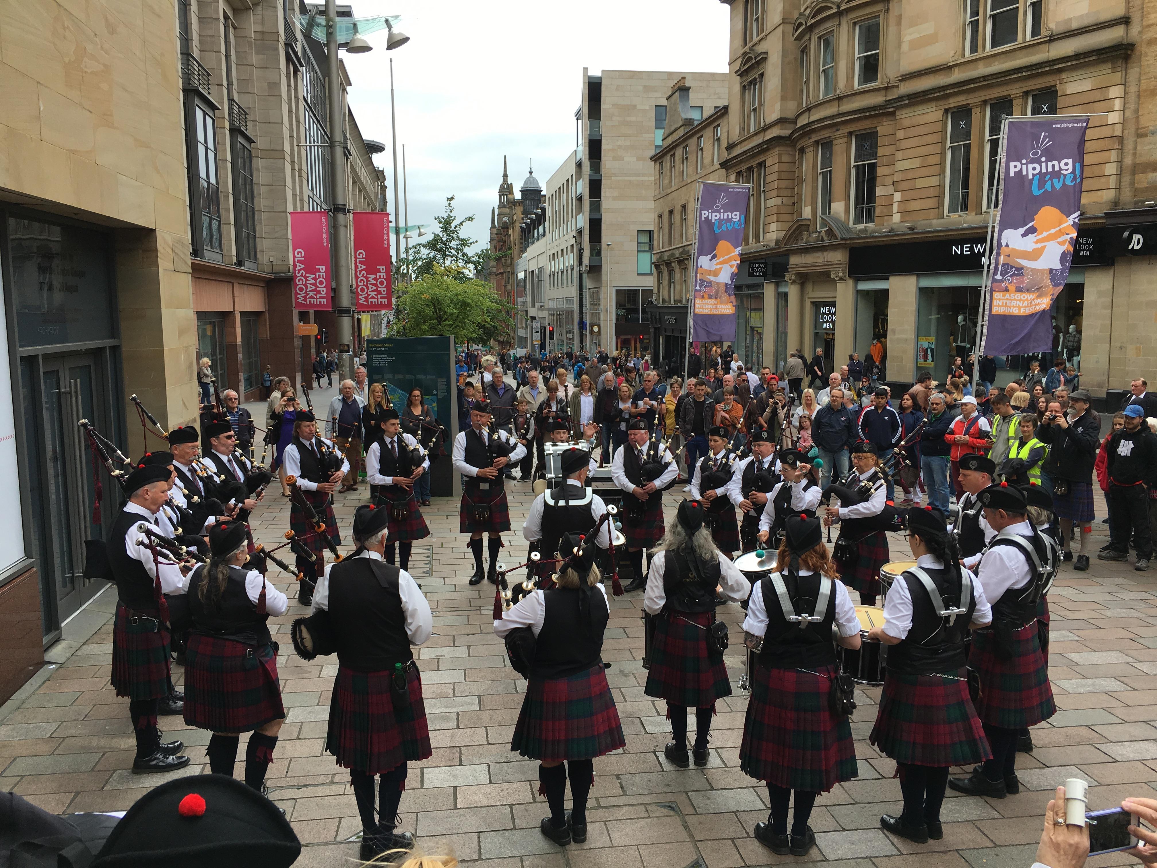 Glasgow, Scotland 2017